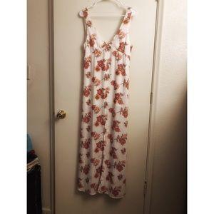 Forever 21 floral long dress